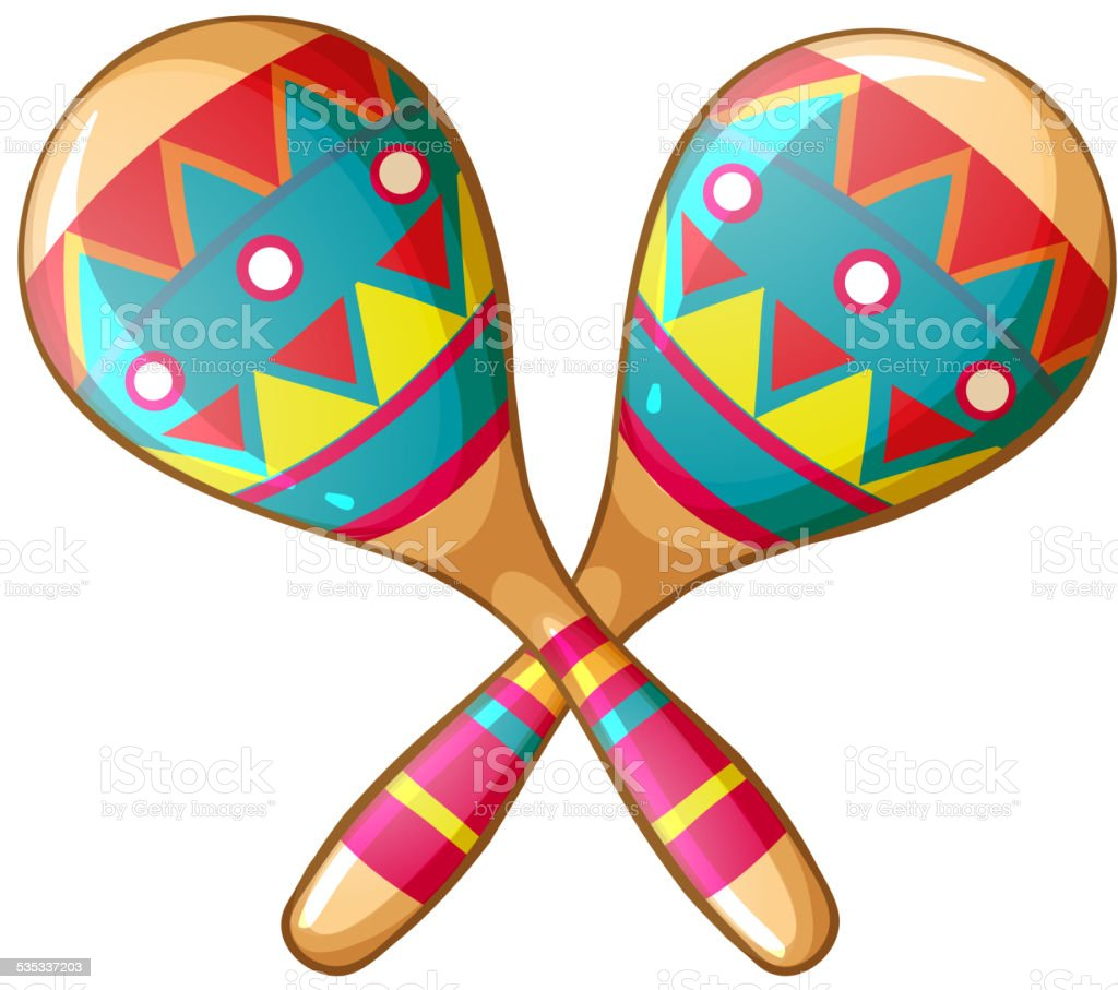 royalty free maracas clip art vector images illustrations istock rh istockphoto com spanish maracas clipart mexican maracas clipart