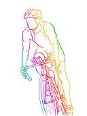 Marathon Cycling Training Rainbow