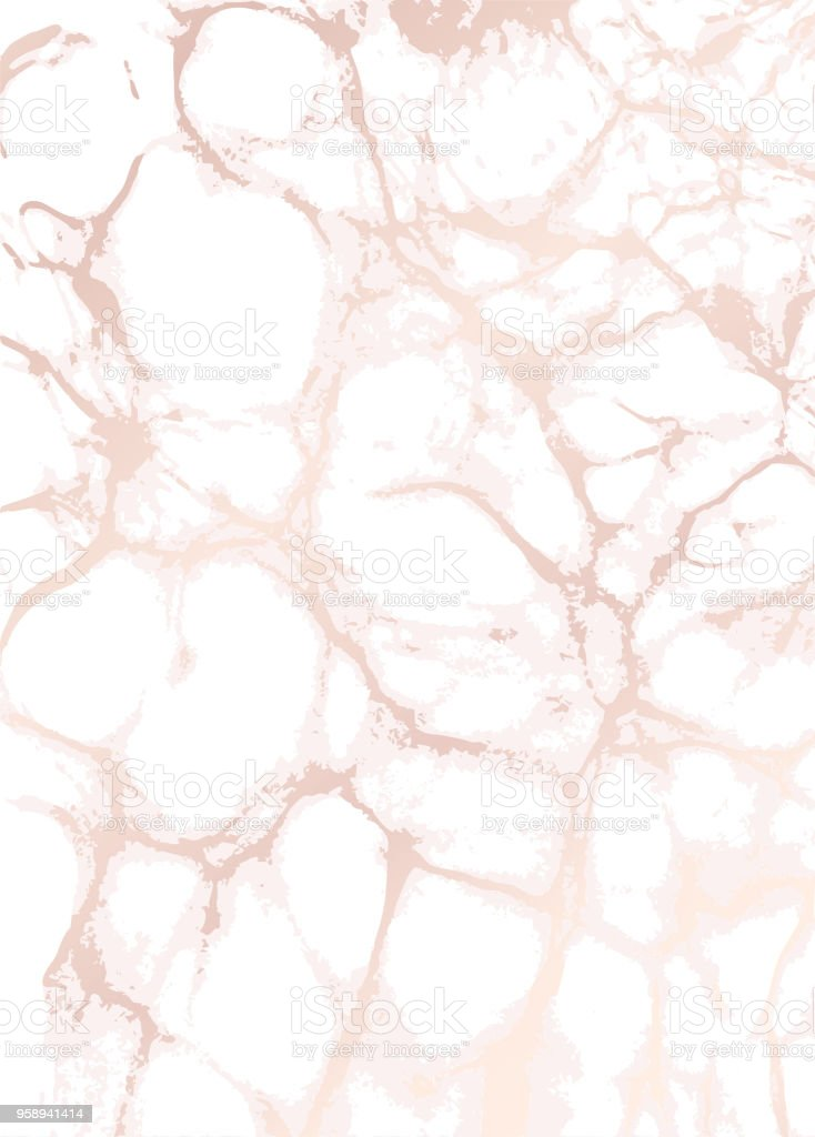 Marble Background Rose Gold Texture Stock Illustration Download Image Now Istock