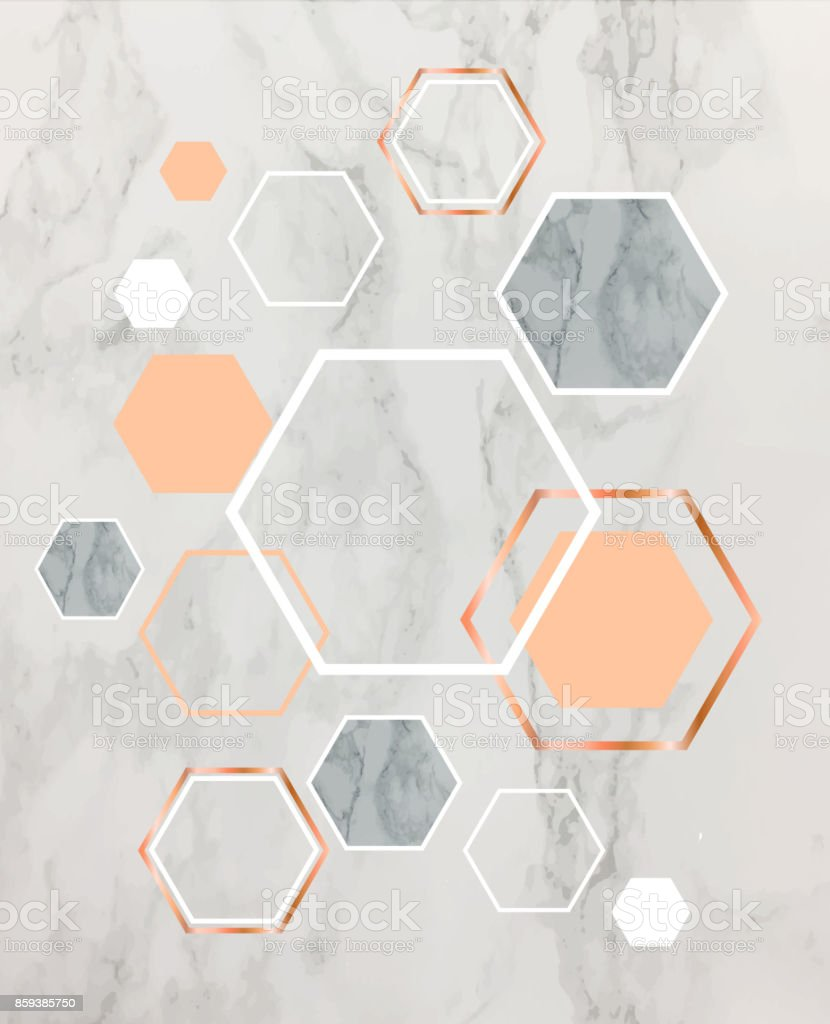 Great Wallpaper Marble Background - marble-background-with-rose-gold-hexagons-geometric-print-for-your-vector-id859385750  Pic_931874.com/vectors/marble-background-with-rose-gold-hexagons-geometric-print-for-your-vector-id859385750