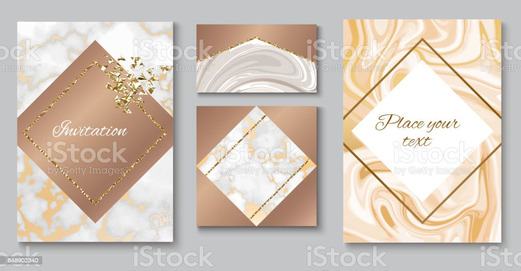 Mise En Page Brochure Marbre Invitation De Mariage Dfinie Le Modle Carte