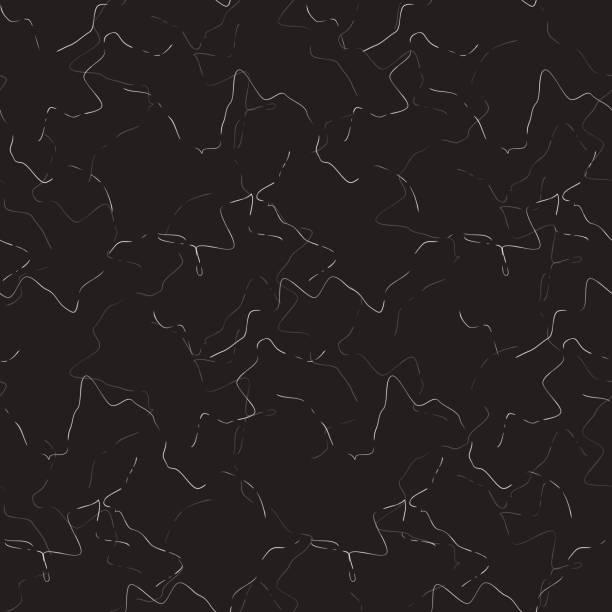 zarte marmorstein schwarz vektor nahtlose textur - granitplatten stock-grafiken, -clipart, -cartoons und -symbole