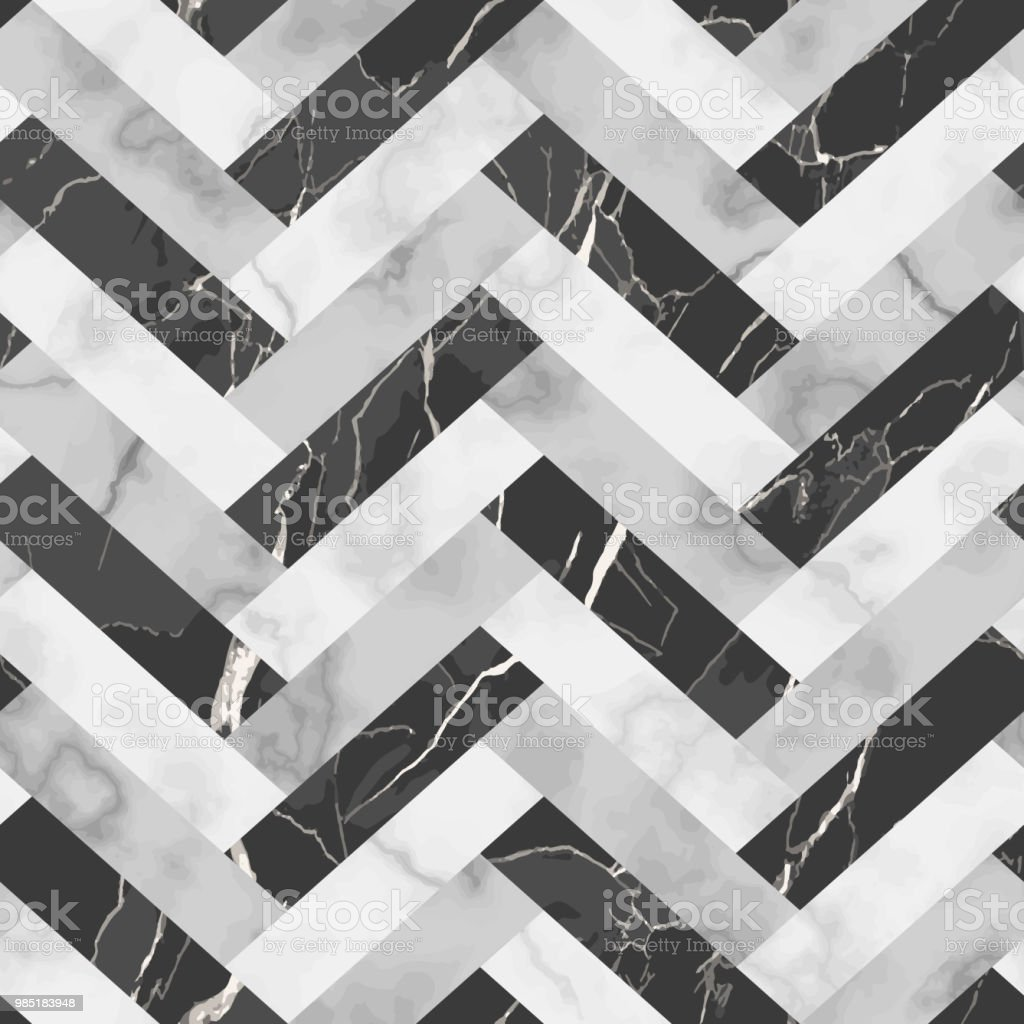 Marble Luxury Herringbone Seamless Pattern royalty-free marble luxury herringbone seamless pattern stock illustration - download image now