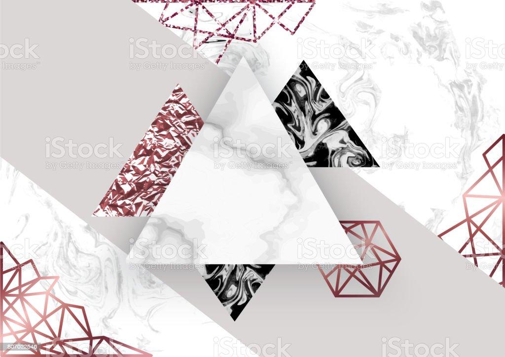 Fondo rosa m rmol en estilo geom trico minimalista moderno for Color marmol rosa