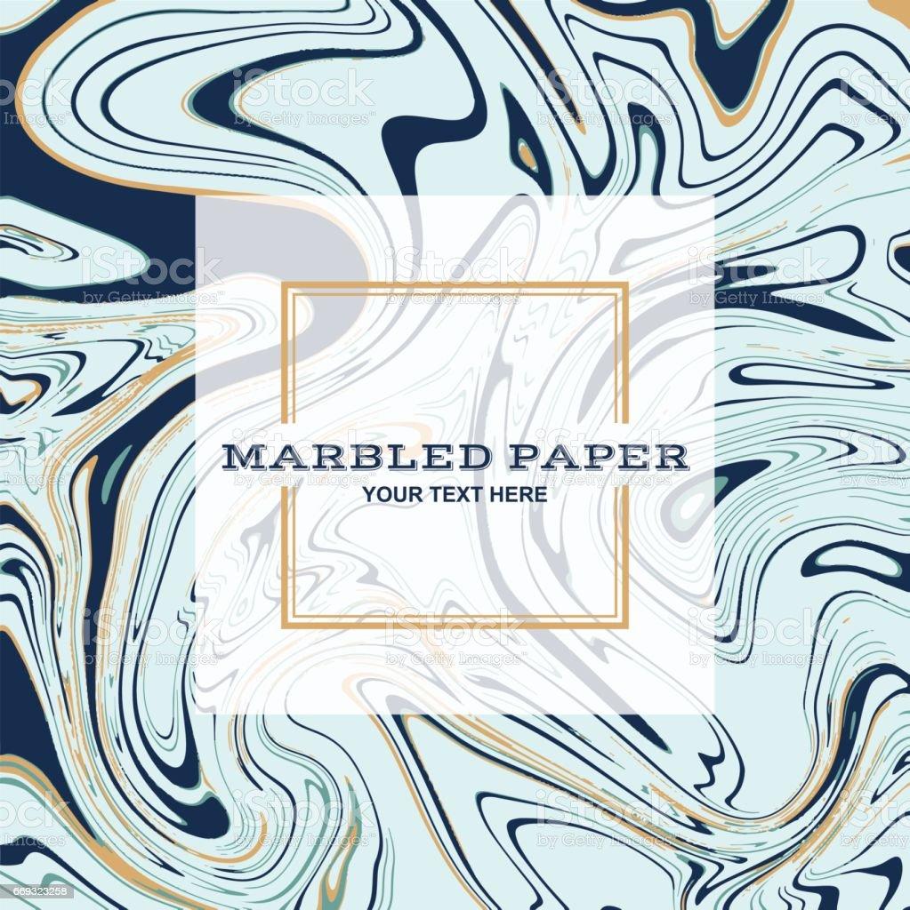 Marbled Paper Background 01 vector art illustration
