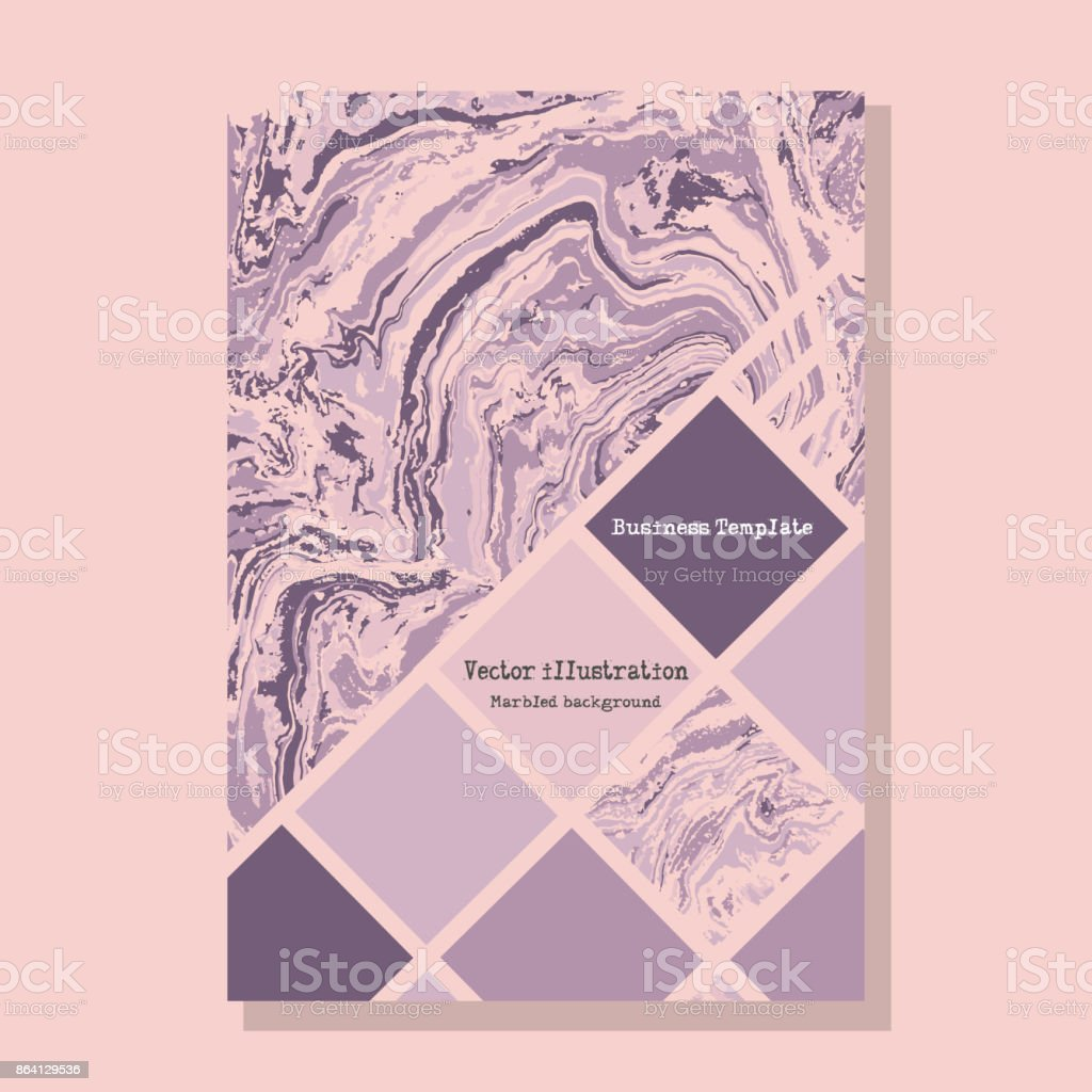 Marbled pastel abstract background. Liquid marble pattern. Vector fluid texture. Business template design. royalty-free marbled pastel abstract background liquid marble pattern vector fluid texture business template design stock vector art & more images of abstract