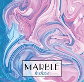 Marbling. Marble texture. Vector abstract colorful background. Paint splash