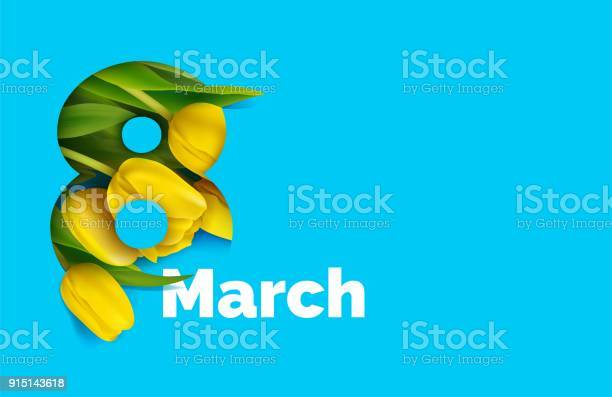 March card with yellow tulips in the style of cut paper vector id915143618?b=1&k=6&m=915143618&s=612x612&h=olcp8c7hboxajoandfcgwqinbxxdprz9sak7wui8rn0=