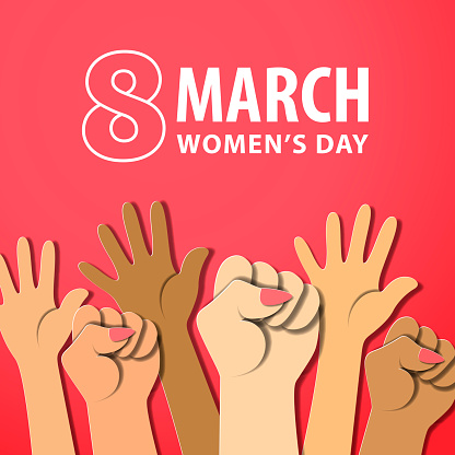 8 March Girl Power