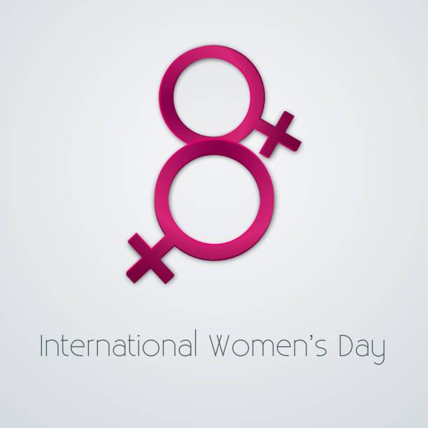 8 march vector illustration - international womens day stock illustrations, clip art, cartoons, & icons