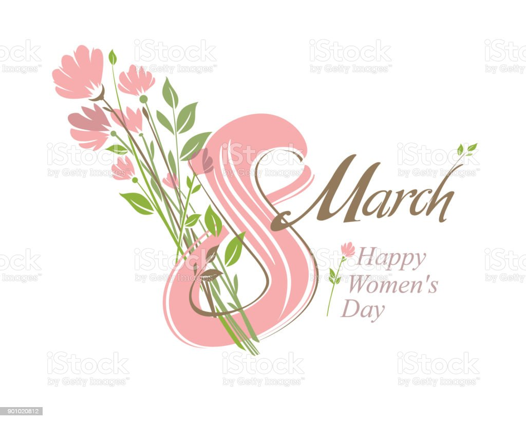 8 march vector template with a bouquet of spring flowers stock 8 march vector template with a bouquet of spring flowers royalty free 8 march mightylinksfo