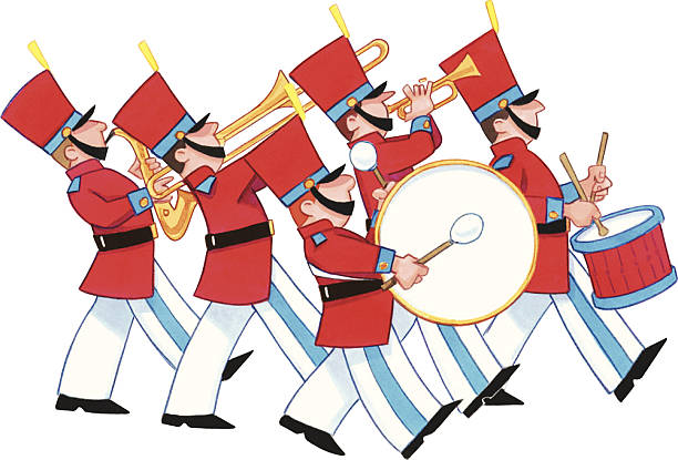 Best Marching Band Illustrations, Royalty-Free Vector Graphics & Clip Art - iStock