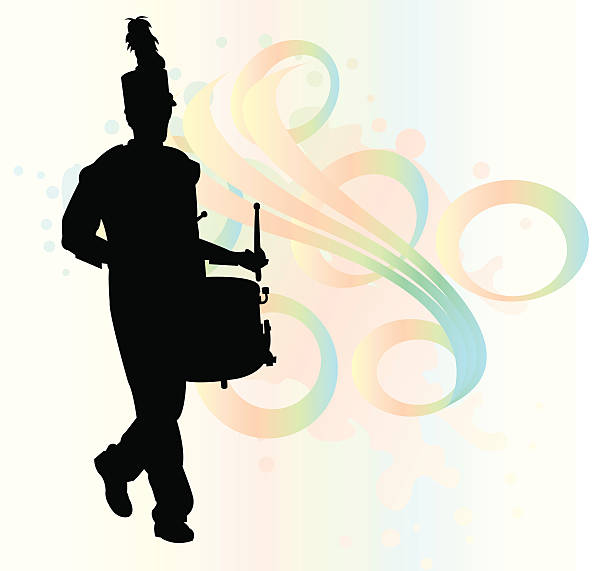Best Marching Band Silhouette Illustrations, Royalty-Free ...