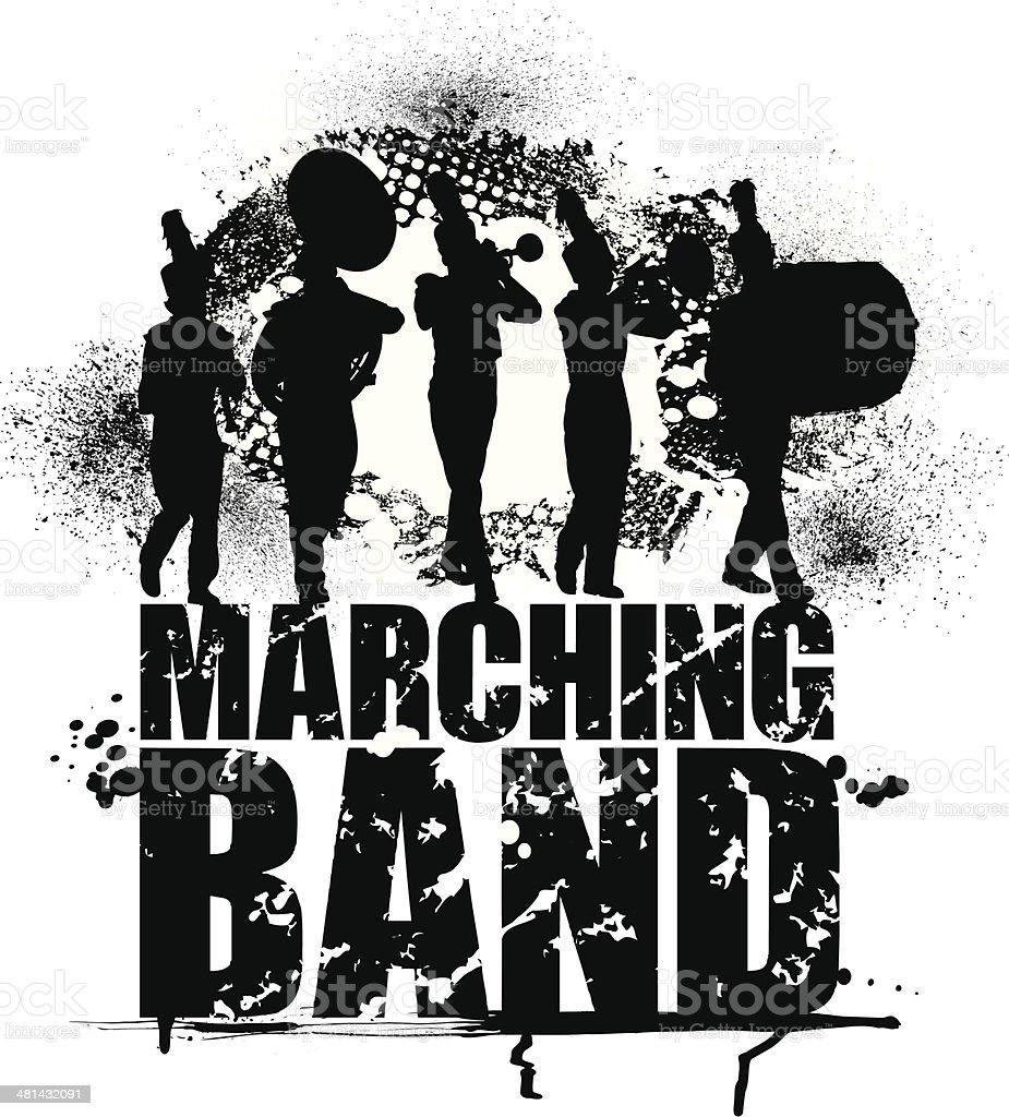 royalty free marching band clip art vector images illustrations rh istockphoto com marching band clip art free marching band clipart white