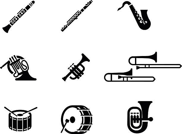 Marching Band Clipart Clarinet Royalty Free Musical I...
