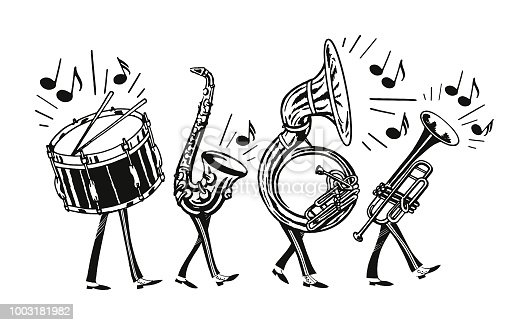 istock Marching Band 1003181982