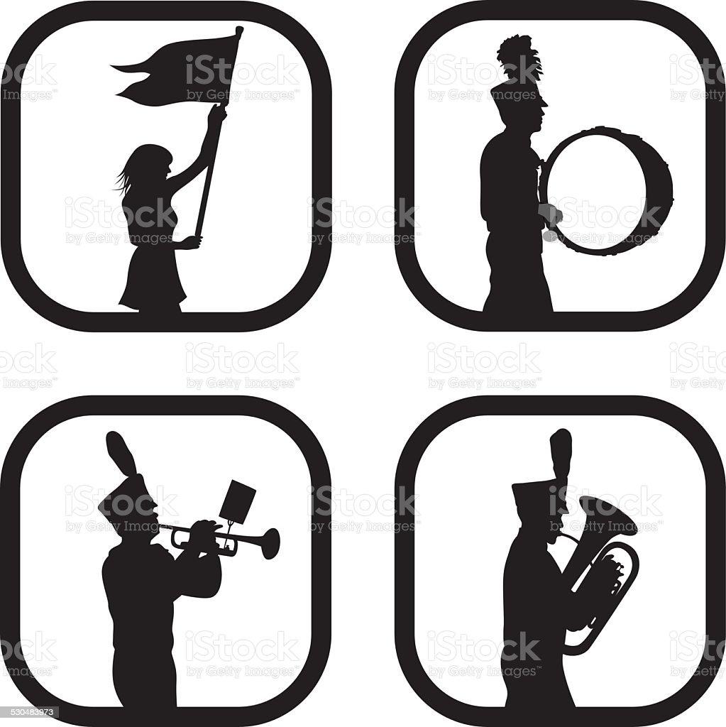 MarchingBand – Vektorgrafik