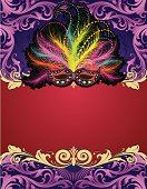 Designed by a hand engraver. Ornate scrollwork banner with Mardi Gras feathered mask. Change color and scale easily with the enclosed EPS and AI files. Also includes hi-res JPG.