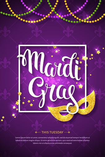 Mardi Gras brochure.