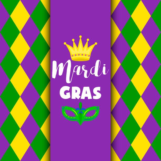 ilustrações, clipart, desenhos animados e ícones de mardi gras carnaval festa vector fundo mascarada celebração festival cartaz - mardi gras