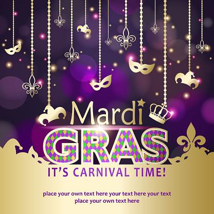 Mardi Gras Carnival Time