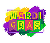 Mardi Gras celebration headline