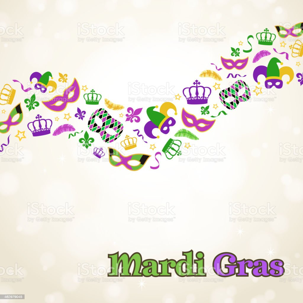 Mardi Gras Elements royalty-free mardi gras elements stock vector art & more images of backgrounds