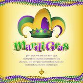 Mardi Gras jester hats.