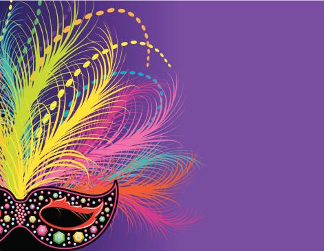 Mardi Gras Mask Page