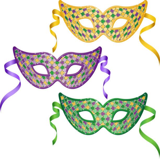 Royalty Free Mardi Gras Mask Clip Art, Vector Images ...