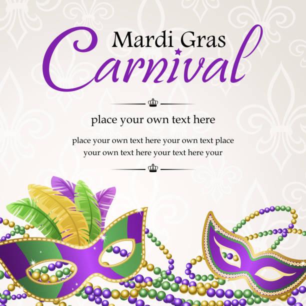 ilustraciones, imágenes clip art, dibujos animados e iconos de stock de mardi gras baile carnival - martes de carnaval