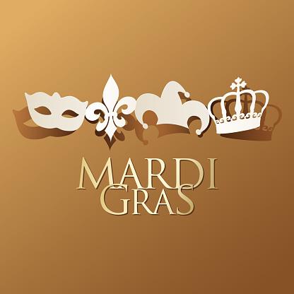 Mardi Gras Paper Craft