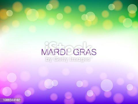 Mardi gras party background vector illustration