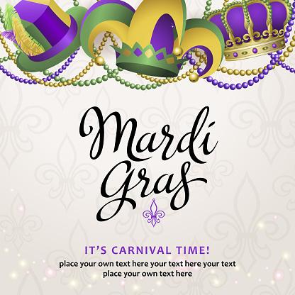Mardi Gras Party Hats