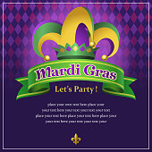 Mardi Gras party backgrounds.