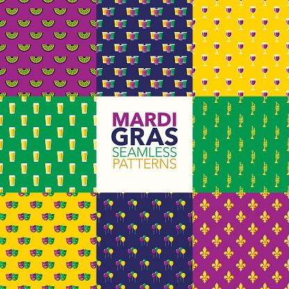 Mardi Gras Patterns