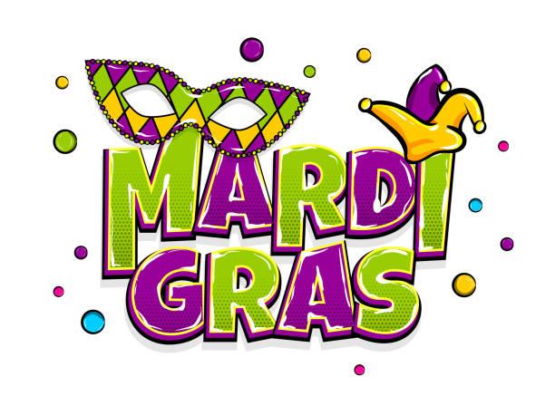 ilustraciones, imágenes clip art, dibujos animados e iconos de stock de telón de fondo de mardi gras brillo perla - martes de carnaval
