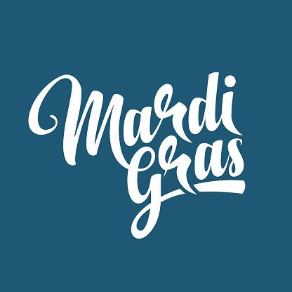 Mardi Gras text