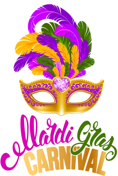 mardi gras - mardi gras stock illustrations, clip art, cartoons, & icons
