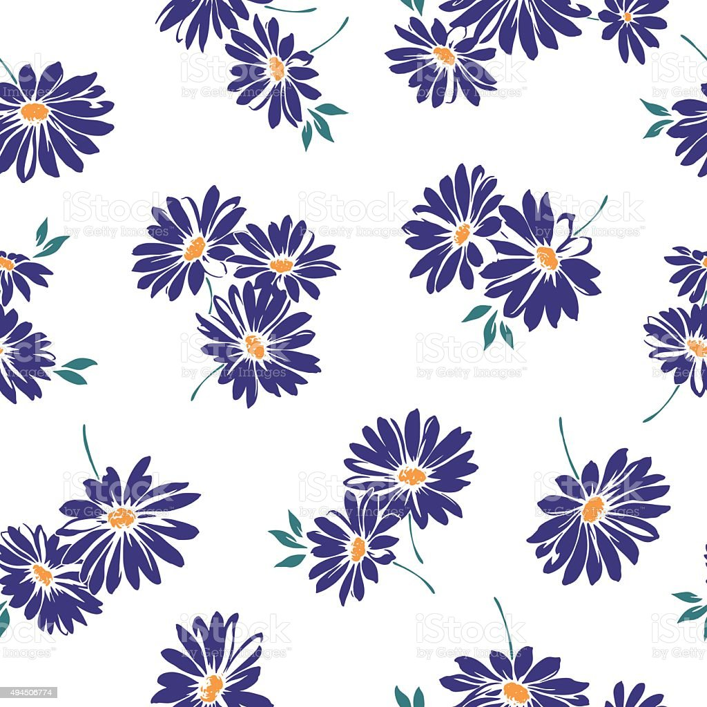 Margaret pattern vector art illustration