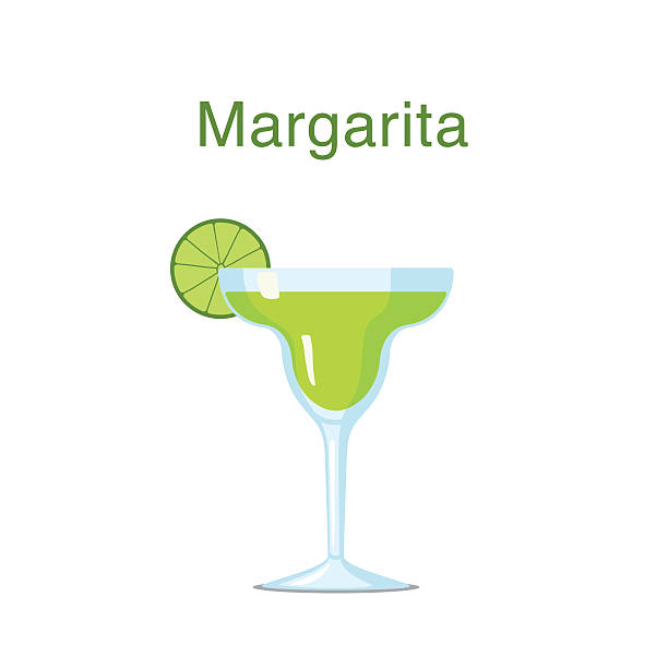 It is a picture of Juicy Margarita Glass Drawing