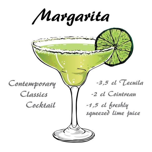 Best Margarita Illustrations, Royalty-Free Vector Graphics ...