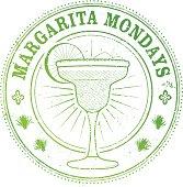 Margarita Monday Stamp