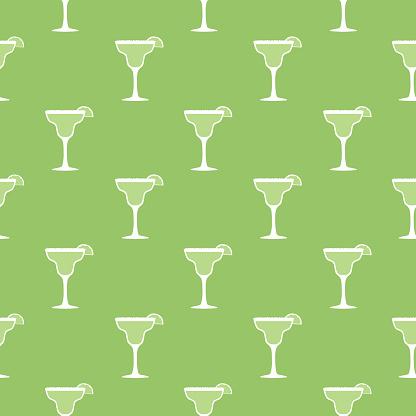 Margarita Seamless Pattern