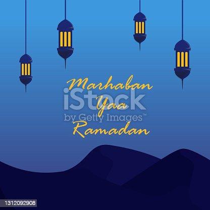 istock Marhaban yaa Ramadan background 1312092908