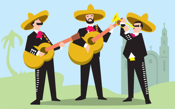 Best Mariachi Illustrations, Royalty-Free Vector Graphics ...