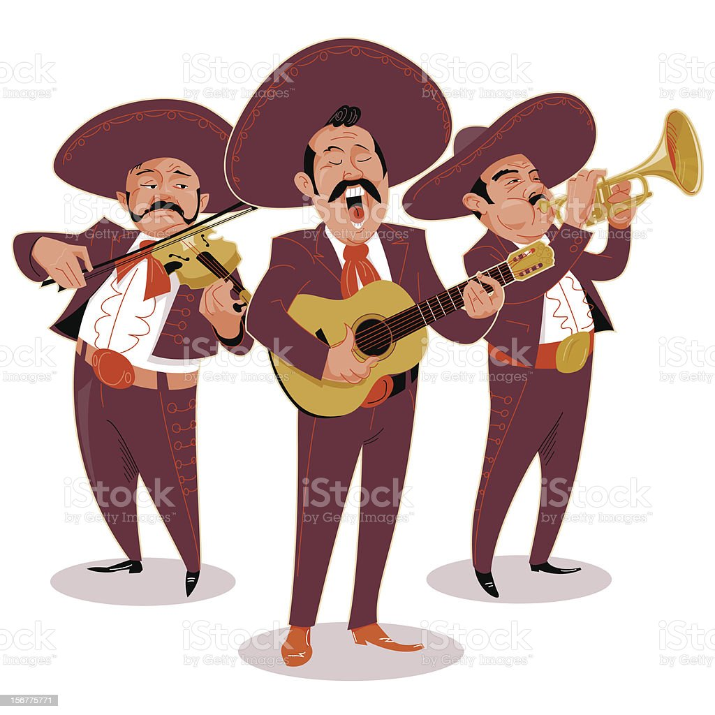 royalty free mariachi clip art vector images illustrations istock rh istockphoto com mariachi band clipart mexican mariachi clipart