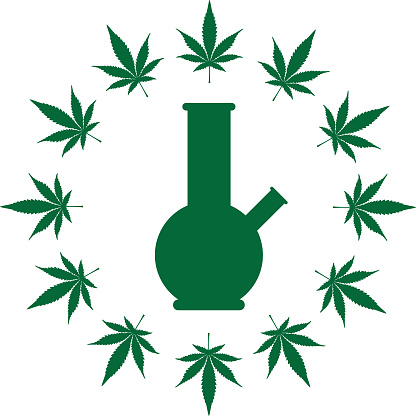 Marijuana Bong Circle