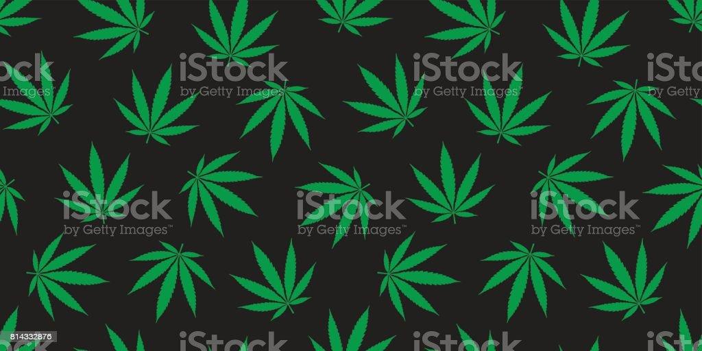 Feuille De Marijuana Cannabis Weed Sans Soudure Fond Fond Decran Vert Vecteurs Libres De Droits Et Plus D Images Vectorielles De Blanc Istock