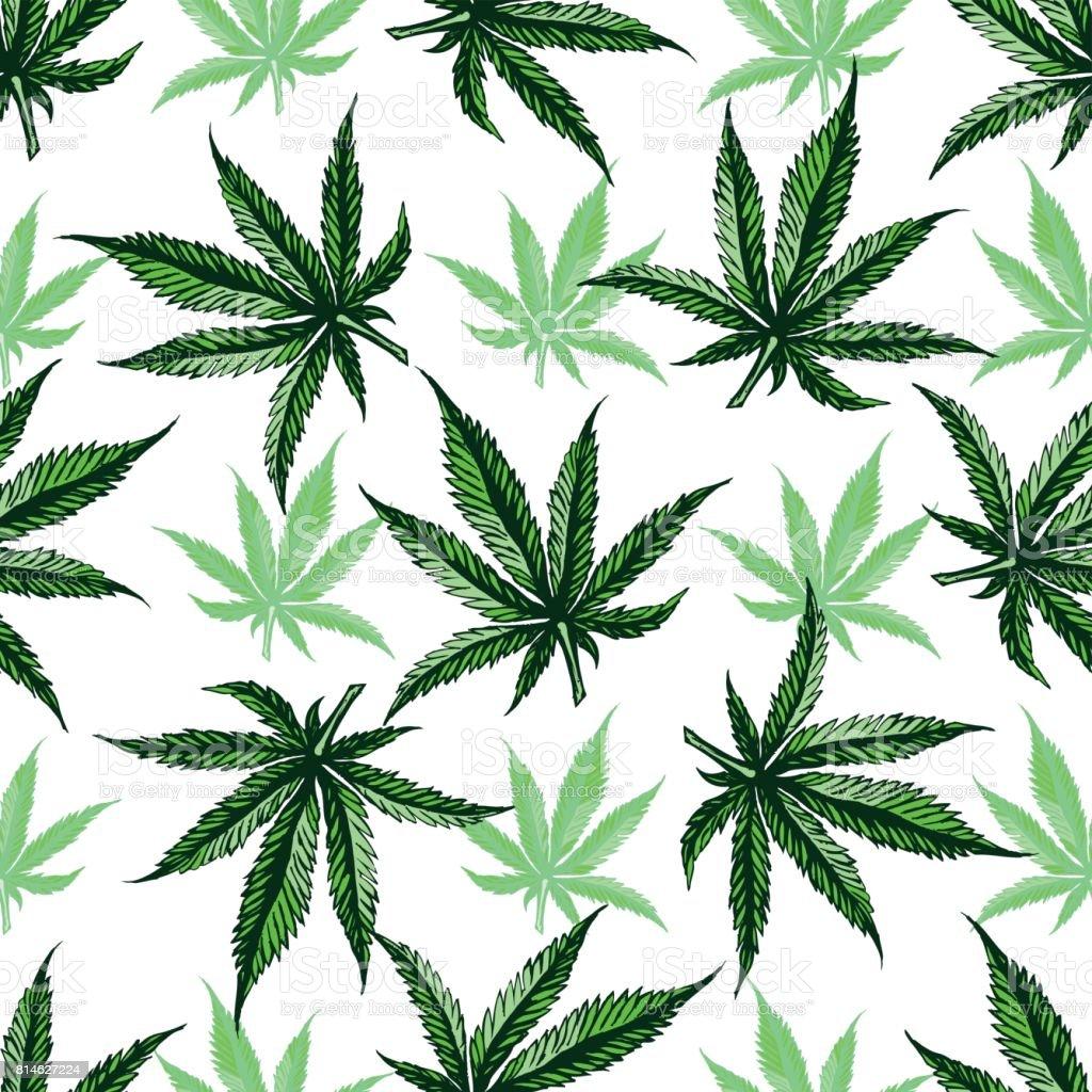 weed leaf template - marijuana leaf pattern stock vector art more images of